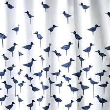 blue patterned curtains navy blue sand piper shower curtain blue grey blackout curtains