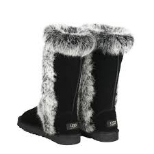 Quantity  ADD TO BAG. Cheap 2015 Womens UGG Classic Sheepskin Tall Boots  5815 Black