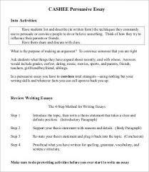 persuasive essay sample example format  cashee persuasive essay