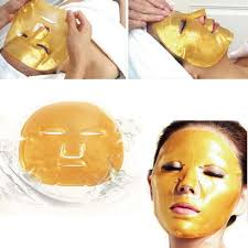 crystal collagen gold bio face masks product images product images