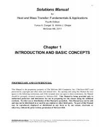 Solutions Manual Chapter 1 INTRODUCTION AND BASIC CONCEPTS