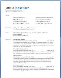 Administrative Resume Template Best Free R Free Professional Resume Template Downloads And High School