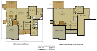 Small Picture 2 Bedroom House Plans With Basement