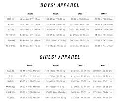 North Face Europe Size Chart The North Face Boys Snowquest Ski Jacket