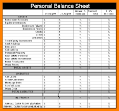 simple balance sheet example 5 simple personal balance sheet example legacy builder coaching