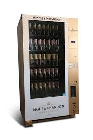 Moet Vending Machine For Sale Enchanting Exciting News A Champagne Vending Machine Has Landed