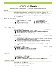 Open Office Resume Templates Free Download Perfect Resume Template 100 Free Example Of Format 100 Templates 11