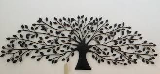 metal tree wall art sculpture