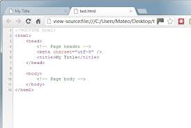 Your first web page in HTML - Build your website with HTML5 and CSS3 ...