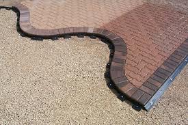 restraint flexible pave edge hardscape landscape tools equipment