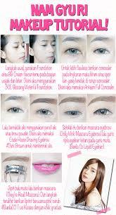 simple ulzzang eye ala tutorial makeup ala korea images