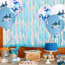 baby shark kids birthday parties are