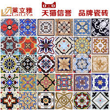 Antiquebrickfloortilesbathroomtilemotifstairbrickglazedsmalltiles Waistlinetilejpg - Glazed bathroom tile