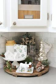 Christmas Decor For Kitchen Cabinets