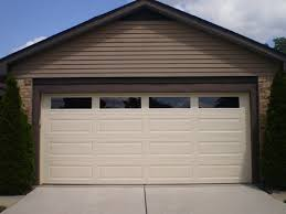 garage door windowsAdding Decorative Garage Door Windows to Give Natural Lights