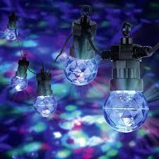 Party Lichterkette 5 1 4 Led Bunt Aussen 20m
