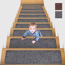 Bitte geben sie die gewünschte plz oder wohnort ein: Mbigm 15er Set Stufenmatten 20 Cm X 76 Cm Treppenteppich Selbstklebend Sicherheit Stufenteppich Fur Kinder Altes In 2020 Treppenteppich Treppen Teppiche Stufenteppich
