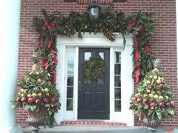 Christmas Garland Front Door  Around  Round Designs