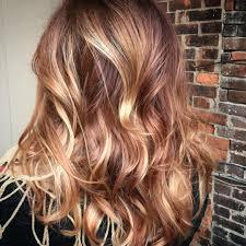 Balayage Hair Style caramel rose gold mahogany copper color melt & balayage 3 3 6362 by wearticles.com
