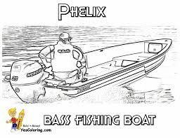 Small Picture Coloring Pages Spring Fishing Coloring Page Free Printable