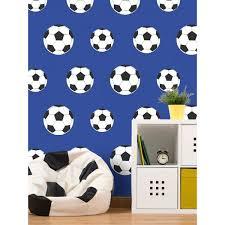 Newcastle United Bedroom Wallpaper Goal Football Wallpaper Dark Blue 9721 Belgravia Decor Bedroom