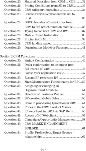 sap crm interview questions answers and explanations pdf 37 question 26 mobile client installation 38 question 27