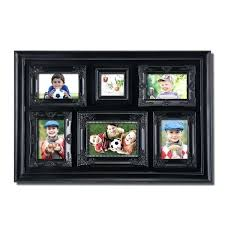 6 picture collage frame 6 opening luxurious black photo collage frame