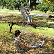 outdoor hammock chair outdoor hammock chair hanging chairs swing cotton rope net swing cradles kids s