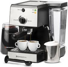 The top countries of supplier is china, from which the. Espressoworks 7 Pc All In One Espresso Machine Cappuccino Maker Barista Bundle Set W Built In Steamer Frother Walmart Com Walmart Com