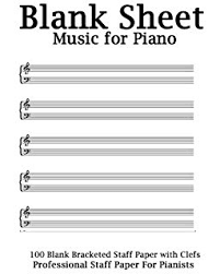 Blank Treble Clef Music Staff Blank Sheet Music Piano Treble Clef And Bass Clef Empty 12