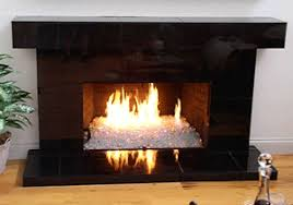 You can convert you old gas fireplace to this. Replace the faux log with art