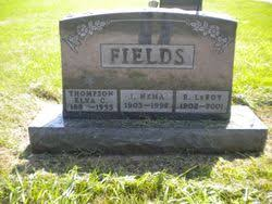 "Richard Leroy ""Roy"" Fields Sr. (1902-2001) - Find A Grave Memorial"