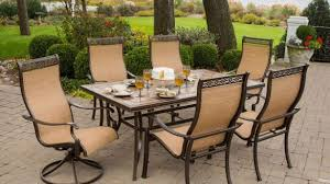 deck furniture home depot. Perfect Depot Attractive Outdoor Furniture At Home Depot Hanover Monaco 7 Piece Patio  Dining Set MONACO7PCSW The  With Deck R