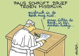 Afbeeldingsresultaat voor paus cartoon