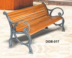 decentive cast iron garden bench by