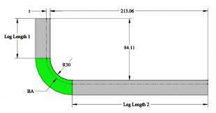 Bend Allowance Chart For Sheet Metal Calculating Bend Allowance Bend Deduction And K Factor