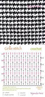 Crochet Patterns Diagram Crochet Grille Stitch Diagram
