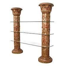 Design Toscano Wholesale Uk Design Toscano Egyptian Columns Of Luxor Shelves Full Color