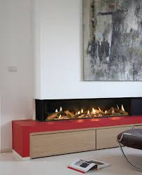 contemporary fireplace by ortal usa clear rs ls model on furniture served