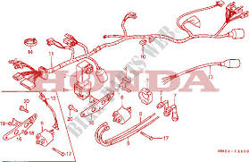 wire harness ignition coil frame cmx450cg 1986 rebel 450 moto honda Trike Honda CMX450 honda moto 450 rebel 1986 cmx450cg frame wire harness ignition coil