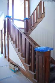 How to & Repairs : Step How To Install Stair Railing How to Install Stair  Railing Step Railings Handrails For Stairs Stairway Handrail plus How to  & ...