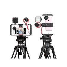 Tay cầm chống rung cho điện thoại Ulanzi U-rig Pro FUBA1 hỗ trợ quay phim ,  làm vlog - Hàng chính hãng - Giá đỡ - Chân đế thường Nhãn hàng Ulanzi