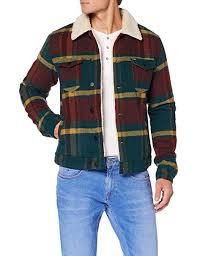 Wrangler Mens Trucker Jacket Amazon Co Uk Clothing