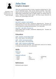 Resume Examples Latex Templates Template Cv Curriculum Vitae With