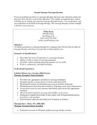 Massage Therapist Resume Template Best of Massage Therapist Resume Sample Spa Cover Letter Livecareer
