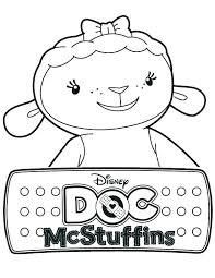 Doc Mcstuffins Coloring Page Doc Coloring Pages Doc Coloring Pages