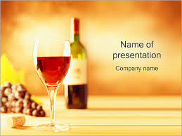 Wine Powerpoint Template Glass Of Red Wine Powerpoint Template Backgrounds Google Slides
