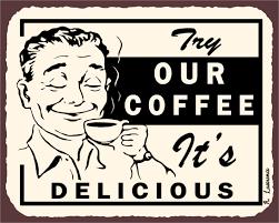 Retro Kitchen Wall Decor Try Our Coffee Its Delicious Vintage Metal Art Wall Decor Retro