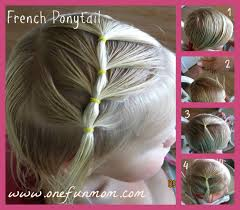 Kids Girls Hair Style howto hair styles for toddler girls part 3 the french ponytail 2776 by wearticles.com