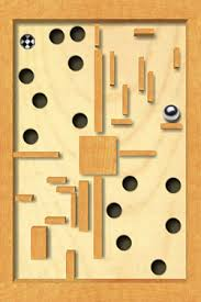 Wooden Maze Game With Ball Bearing iPhone Labyrinth game app for the iphone review by Craig Moore 59